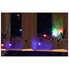 Christmas lights bright 1000 LEDs multi-color remote control external 220V green cable s4