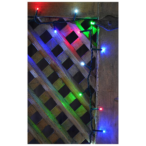 Christmas lights bright 1000 LEDs multi-color remote control external 220V green cable 2