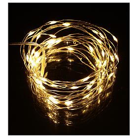 Christmas lights, 5 m, 50 LED drop lights, warm white, indoor use s2