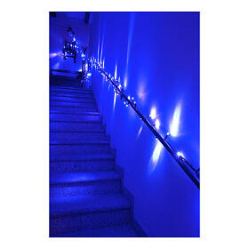 Christmas lights, 1.5 m, 100 blue LED lights, indoor and outdoor use s4