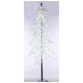 LED Christmas Tree, Diamond, 250 cm 720 LED lights, icy white, outdoor use s1