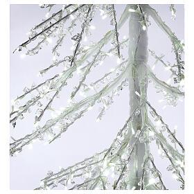 LED Christmas Tree, Diamond, 250 cm 720 LED lights, icy white, outdoor use s4