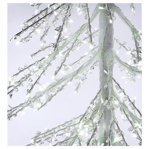 LED Christmas Tree, Diamond, 250 cm 720 LED lights, icy white, outdoor use 4