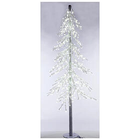 Árbol luminoso Diamond 250 cm 720 led blanco frío exterior corriente s2