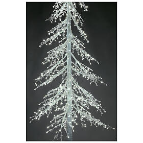 Árbol luminoso Diamond 250 cm 720 led blanco frío exterior corriente s4