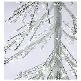 Árbol luminoso Diamond 250 cm 720 led blanco frío exterior corriente s6