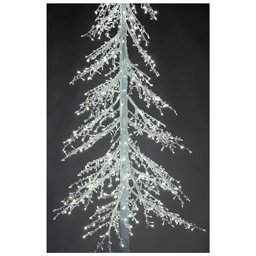 Árbol luminoso Diamond 250 cm 720 led blanco frío exterior corriente 4