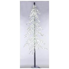 Albero luminoso Diamond 250 cm 720 led bianco freddo esterno corrente s2