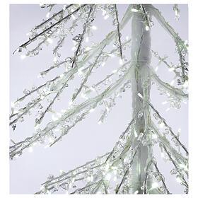 Albero luminoso Diamond 250 cm 720 led bianco freddo esterno corrente s6