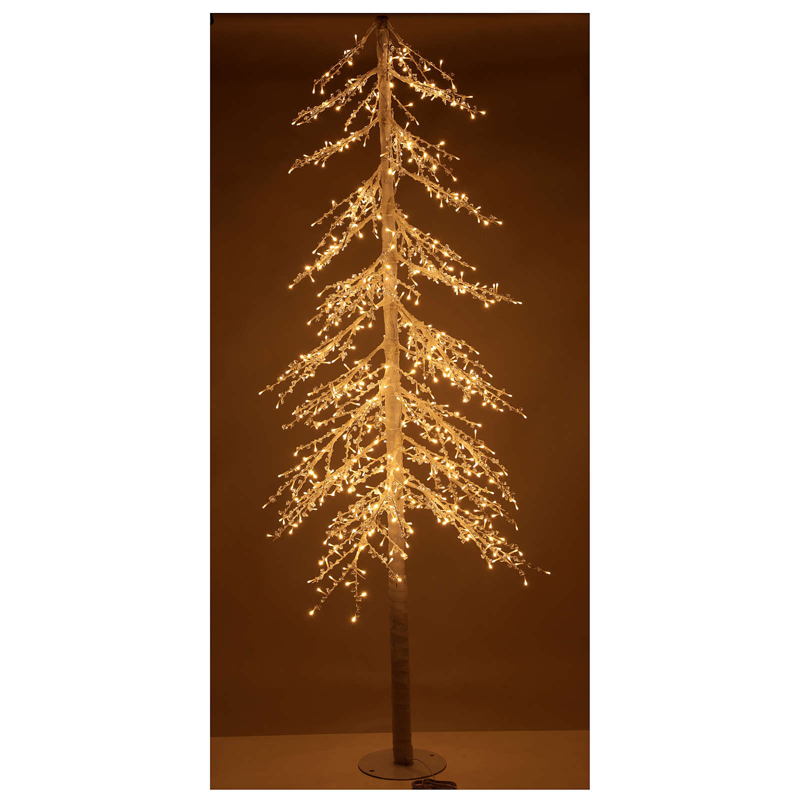 LED Christmas Tree, Diamond, 250 cm 720 LED lights, warm white, outdoor use 3