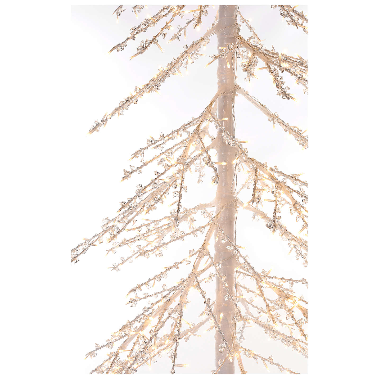 Árbol luminoso Diamond 250 cm 720 led blanco cálido exterior corriente 3