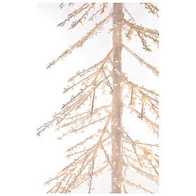 Árbol luminoso Diamond 250 cm 720 led blanco cálido exterior corriente s4