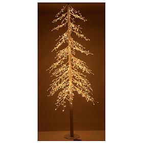 Christmas tree figure Diamond 250 cm 720 warm white LEDs outdoors electric powered s1