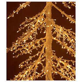 Christmas tree figure Diamond 250 cm 720 warm white LEDs outdoors electric powered s2