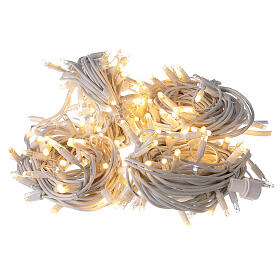 Warm white string lights 20 m 200 ultra-bright LEDs indoor outdoor electric s4