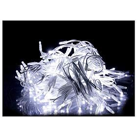 Tenda luminosa sfalsata 160 led bianco freddo 32 flash int est s2