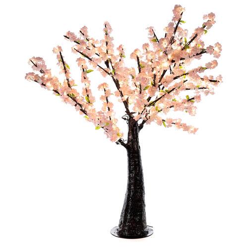 Cerisier Sakura lumineux 336 LED h 150 cm courant EXTÉRIEUR 1