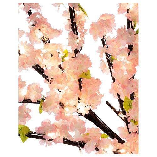 Cerisier Sakura lumineux 336 LED h 150 cm courant EXTÉRIEUR 7