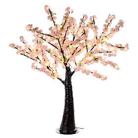 Ciliegio Sakura luminoso 336 led h 150 cm corrente ESTERNO s4