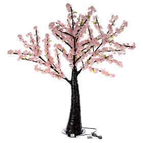 Ciliegio Sakura luminoso 336 led h 150 cm corrente ESTERNO s10