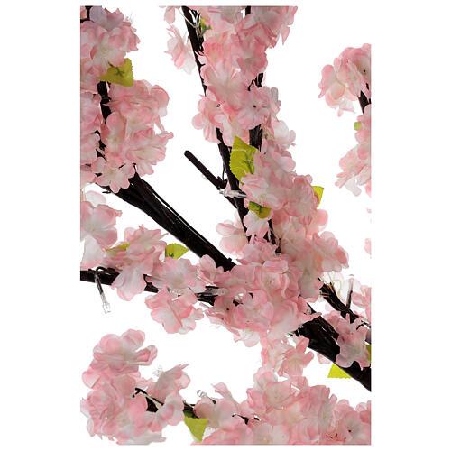 Ciliegio Sakura luminoso 336 led h 150 cm corrente ESTERNO 2