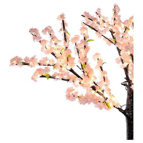 Ciliegio Sakura luminoso 336 led h 150 cm corrente ESTERNO 5