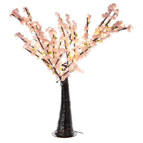 Ciliegio Sakura luminoso 336 led h 150 cm corrente ESTERNO 6