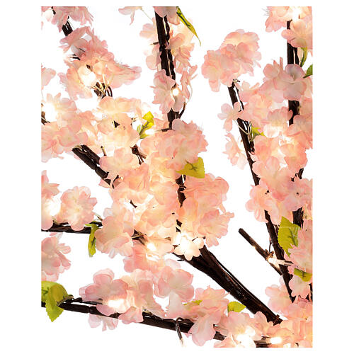 Ciliegio Sakura luminoso 336 led h 150 cm corrente ESTERNO 7