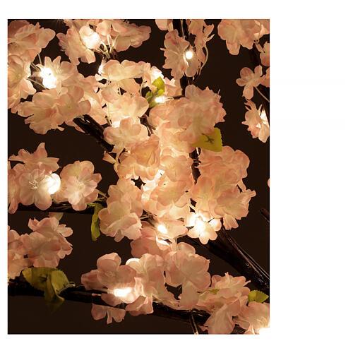 Ciliegio Sakura luminoso 336 led h 150 cm corrente ESTERNO 8
