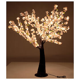 Cherry blossom light tree 335 LEDs h 150 cm electric OUTDOOR s3