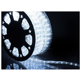 LED rope light PROFESSIONAL grade 44 m 2 wires 1584 LEDs 13 mm cold white OUTDOOR s2