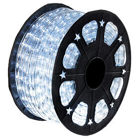 LED rope light PROFESSIONAL grade 44 m 2 wires 1584 LEDs 13 mm cold white OUTDOOR s3