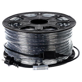 LED rope light PROFESSIONAL grade 44 m 2 wires 1584 LEDs 13 mm cold white OUTDOOR s5