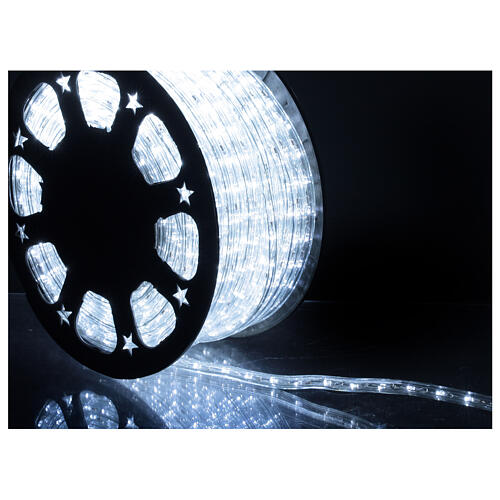 LED rope light PROFESSIONAL grade 44 m 2 wires 1584 LEDs 13 mm cold white OUTDOOR 2