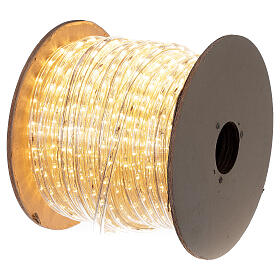 LED strip lights PROFESSIONAL 2 wires 1584 warm white LEDs 44 m electric powered OUTDOOR s4