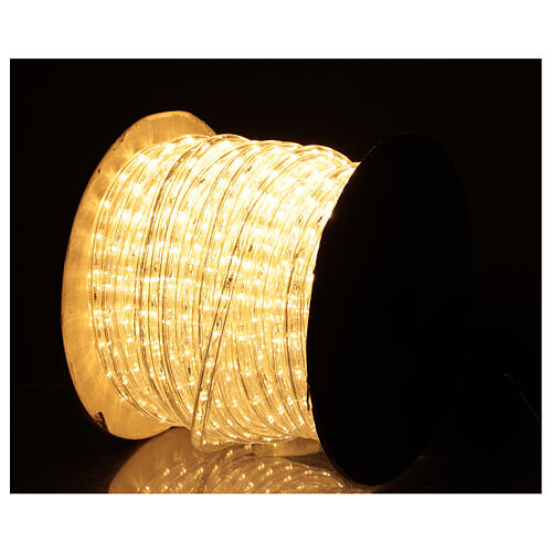 LED strip lights PROFESSIONAL 2 wires 1584 warm white LEDs 44 m electric powered OUTDOOR 1