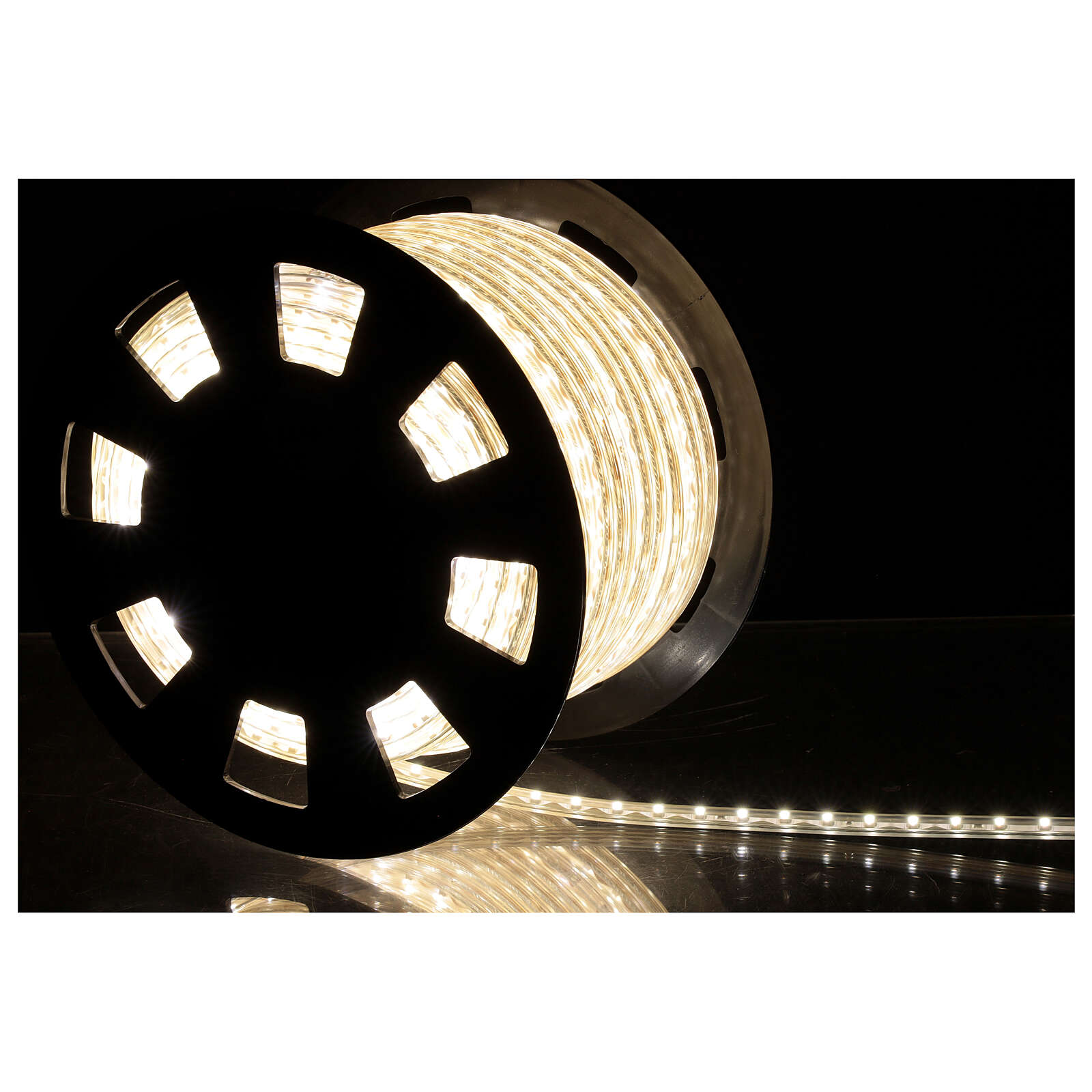 LED tape light PROFESSIONAL 3000 cool white 50 m 5 accessories OUTDOORS 3