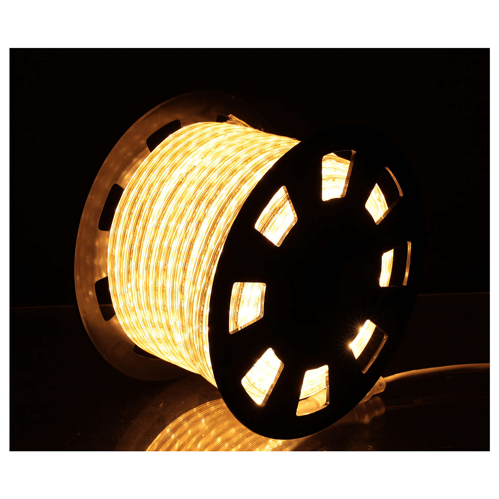 LED rope lights PROFESSIONAL 3000 warm white 50 mt accessories OUTDOORS 3