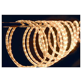 LED rope lights PROFESSIONAL 3000 warm white 50 mt accessories OUTDOORS s3