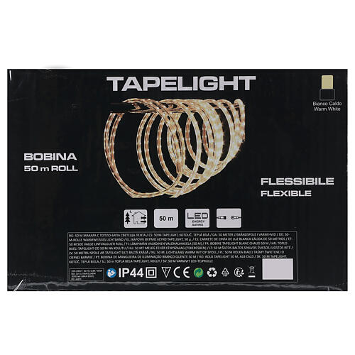 LED rope lights PROFESSIONAL 3000 warm white 50 mt accessories OUTDOORS 5