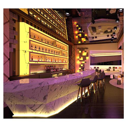 Bobine tapelight PROFESSIONAL 3000 LED blanc chaud 50 m 5 accessoires EXTÉRIEUR 2