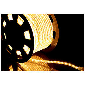 LED rope lights PROFESSIONAL 3000 warm white 50 mt accessories OUTDOORS s4