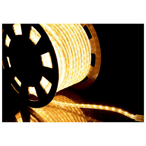 LED rope lights PROFESSIONAL 3000 warm white 50 mt accessories OUTDOORS 4
