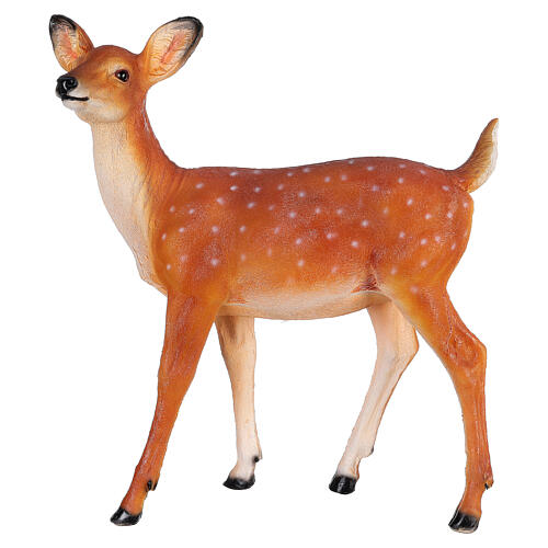 LED fawn standing Christmas decoration for outdoors 70x60x30 cm 4