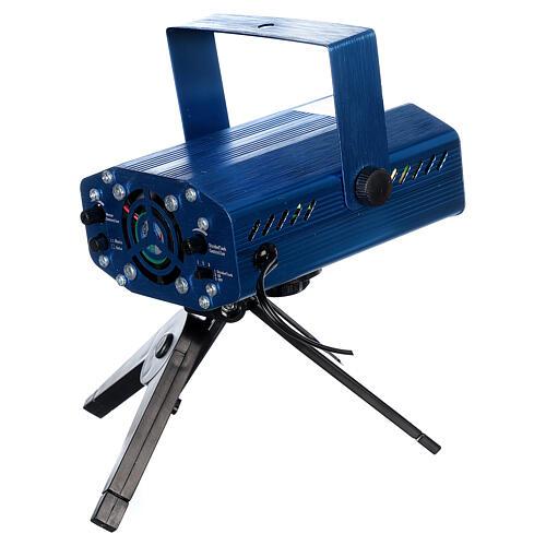 STOCK Proiettore laser cuori rosso verde per interni 4
