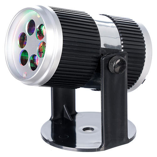 STOCK Projecteur LED images Noël multicolores avec adaptateur 2