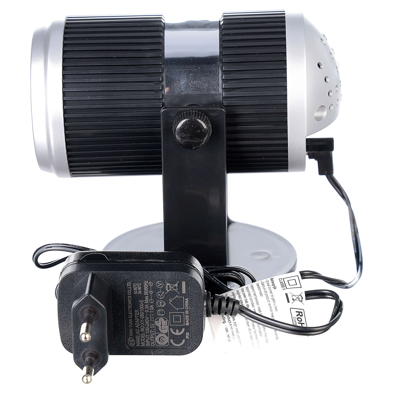 STOCK LED light projector multicolor Christmas images with adaptor 3