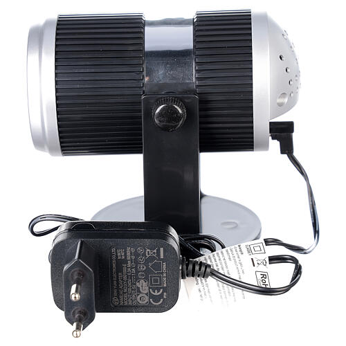 STOCK LED light projector multicolor Christmas images with adaptor 6