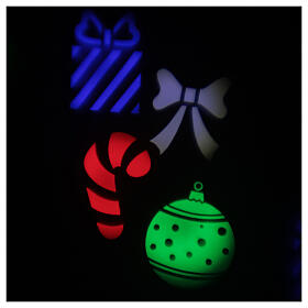 STOCK Outdoor LED light projector for multicolor Christmas images s5