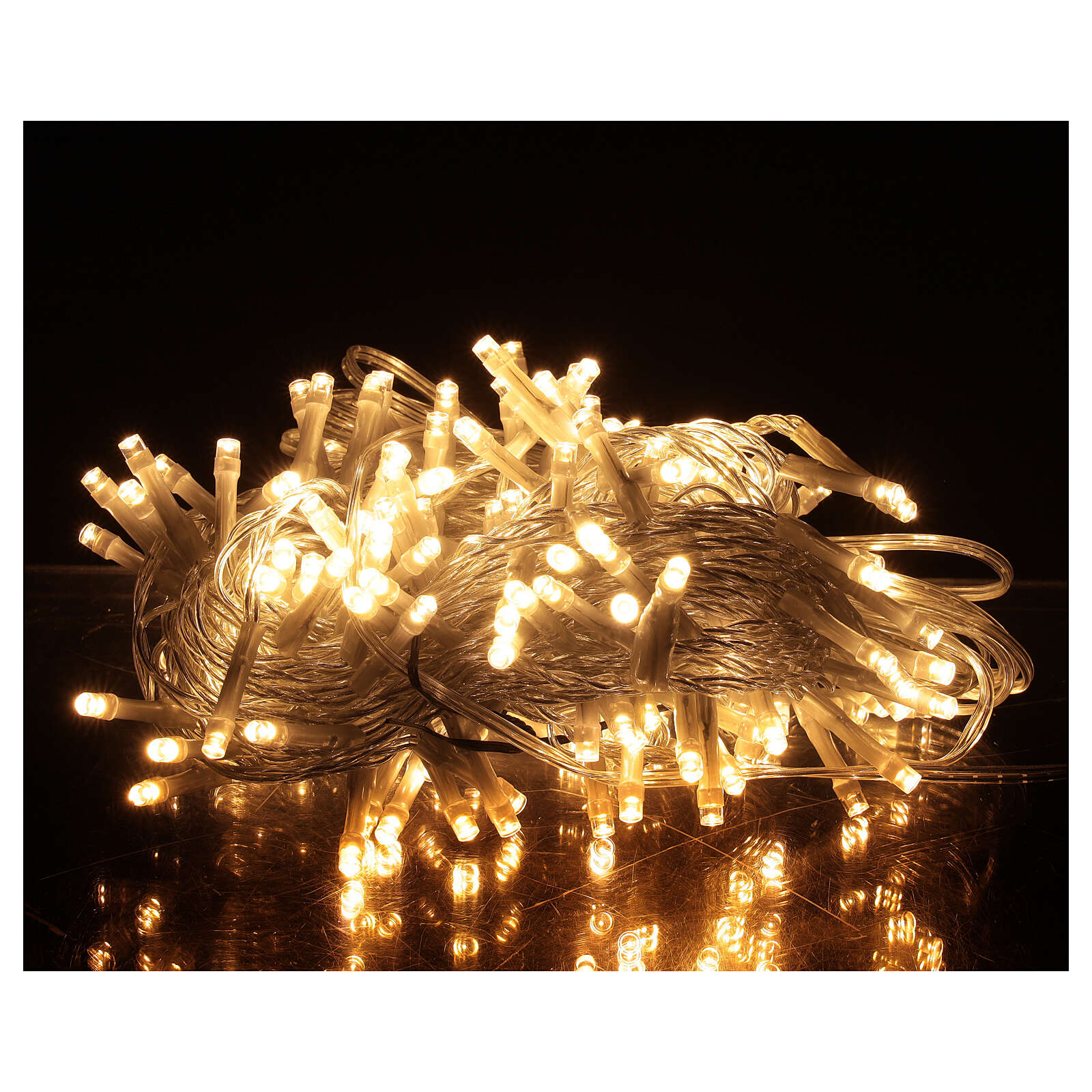 Christmas lights 180 warm white LEDS with light shows timer indoor outdoor 3